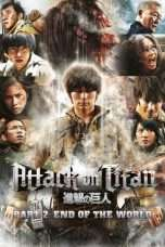 Nonton Streaming Download Drama Attack on Titan II: End of the World (2015) gty Subtitle Indonesia