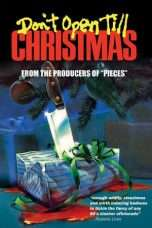 Nonton Streaming Download Drama Don't Open Till Christmas (1984) Subtitle Indonesia