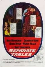 Nonton Streaming Download Drama Separate Tables (1958) Subtitle Indonesia