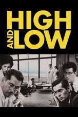 Nonton Streaming Download Drama High and Low (1963) Subtitle Indonesia