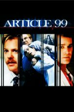 Nonton Streaming Download Drama Article 99 (1992) jf Subtitle Indonesia