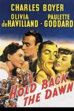 Nonton Streaming Download Drama Hold Back the Dawn (1941) gt Subtitle Indonesia